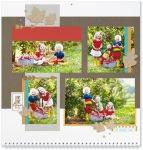 Through the Year #ctmh #closetomyheart #throughtheyear #calendar #kit #scrapbooking #scrapbook #memorykeeping #keepsake #gift #diy #family #Chrismas #present #photos #gold #glitter #diecut #gems #leaves #leafs #leaf #love #fall #autumn