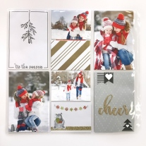 Holiday Memory Keeping #ctmh #closetomyheart #memory #keeping #pocket #plus #scrapbooking #scrapping #plan #ahead #holiday #christmas #december #story #cheer #season #mistletoe