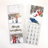 Holiday Memory Keeping #ctmh #closetomyheart #memory #keeping #pocket #plus #scrapbooking #scrapping #plan #ahead #holiday #christmas #december #story #snow #trees #merry #lights