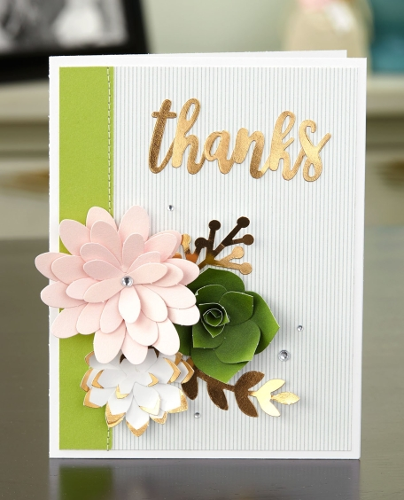 Love Letters #ctmh #closetomyheart #paper #crafting #papercrafting #national #month #diy #scrapbooking #layout #loveletters #love #letters #flowers #leftover #pieces #succulent #rose #gold #memorykeeping #cardmaking #card #thanks