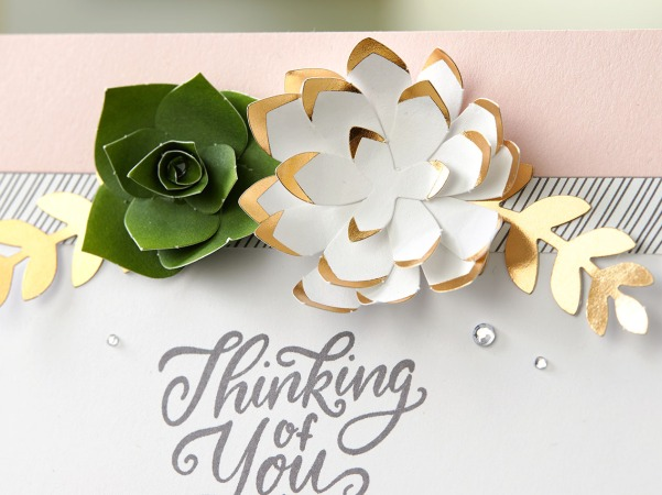 Love Letters #ctmh #closetomyheart #paper #crafting #papercrafting #national #month #diy #scrapbooking #layout #loveletters #love #letters #flowers #leftover #pieces #succulent #rose #gold #memorykeeping