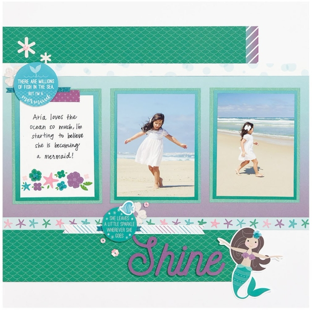 Complement Day #ctmh #closetomyheart #complement #compliment #sticker #embellish #embellishment #accessories #accessory #make #waves #floral #flowers #bashful #glacier #lagoon #pansy #shine #mermaid #girl #girly #fish #sea #ocean #water #polkadots #dot #diy #card #cardmaking