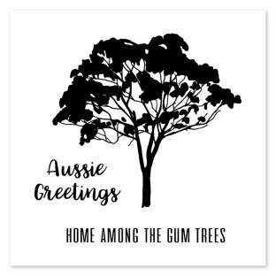 Australia Day Giveaway #ctmh #closetomyheart #australia #day #giveaway #aussie #greetings #gum #trees #stamp #set #myacrylix