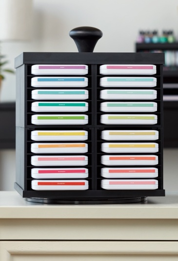 Workspace Wonder™ Organization #ctmh #closetomyheart #workspacewonder #work #space #wonder #organization #organisation #system #storage #solution #stacking #declutter #carousel #paper #crafting #papercrafting #craft #diy #scrapbooking #cardmaking