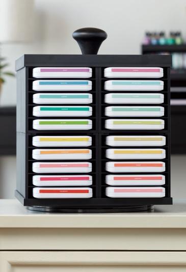 Workspace Wonder™ Organization #ctmh #closetomyheart #workspacewonder #work #space #wonder #organization #organisation #system #storage #solution #stacking #declutter #carousel #paper #crafting #papercrafting #craft #diy #scrapbooking #cardmaking