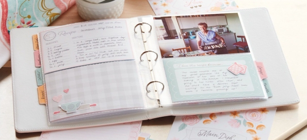 Handwriting in Memory Keeping #ctmh #closetomyheart #memory #keeping #journal #journalling #journaling #scrapbooking #cardmaking #diy #handwriting #writing #write #memories #personal #identity #unique #kitchen #traditions #recipes #cutabove
