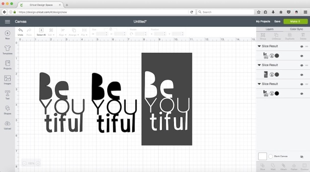 Working with Fonts in Design Space #ctmh #closetomyheart #cricut #design #space #font #fonts #beyoutiful #beautiful #card