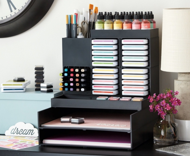 Workspace Wonder™ Organization #ctmh #closetomyheart #workspacewonder #work #space #wonder #organization #organisation #system #storage #solution #stacking #declutter #papercrafting #paper #craft #crafting #diy #cardmaking #scrapbooking
