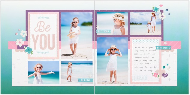 Elevate Your Artwork #ctmh #closetomyheart #elevate #art #artwork #make #waves #mermaid #little #girl #be #strong #you #brave #fearless #beach #clusters #stamping #lifted #edges #soft #hard #tips #diy #howto #doityourself #scrapbook #scrapbooking