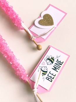 Simple and Sweet School Valentines #ctmh #closetomyheart #simple #easy #school #valentine #day #pencils #hearts #flags #xo #tags #bee #mine #together #short #sweet