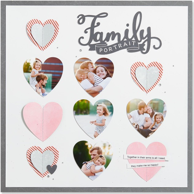 Shaping Your Photos w Thin Cuts #ctmh #closetomyheart #ThinCuts #thin #cuts #die #dies #cutting #cuttlebug #cuddlebug #diecutting #shape #photo #banner #heart #basic #easy #diy #doityourself #scrapping #scrapbook #scrapbooking #idea #dienamite #dynamite #family #love #pennant #banner