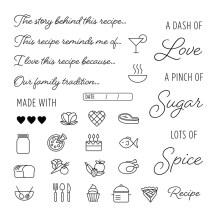 Memories from the Kitchen #ctmh #closetomyheart #kitchentraditions #memorykeeping #kitchen #recipe #kit #memories #nostalgia #nostalgic #food #ctmhkitchentraditions #ctmhgimmesomesugar #giveaway #free #MyAcrylix® #myacrylix #stampset #stamp #set