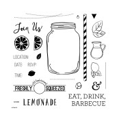 Fab Four Sign-up Special #ctmh #closetomyheart #classic #summer #bash #May #sotm #stamp #month #lemonade #lemon #ade #drink #eat #barbecue #bbq #pitcher #juice #party #freshly #squeezed #invite #invitation #fabfour #free