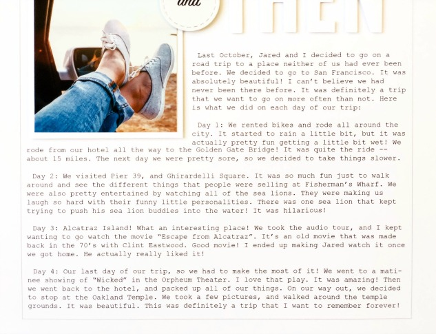 Millenial-style Scrapbooking #ctmh #closetomyheart #millenial #scrapbooking #millenialmemorykeeping #memorykeeping #storytelling #preservingmemories #simplicity #whitespace #minimalism #minimalist #minimalistic #andthen #journaling #journalling #journal