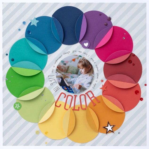 Achieving Balanced Artwork #ctmh #closetomyheart #ctmhcreatetherainbow #createtherainbow #rainbow #balance #balancedart #symmetricalbalance #asymmetricalbalance #asymmetrical #symmetrical #scrapbooking #designprinciple #designprinciples