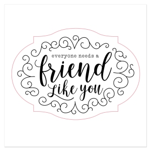 Here's to You #ctmh #closetomyheart #here'stoyou #afriendlikeyoustampset #afriendlikeyou #campaign #constantcampaign #ctmhhere'stoyou #exclusivestampset #sale #monthlyspecial