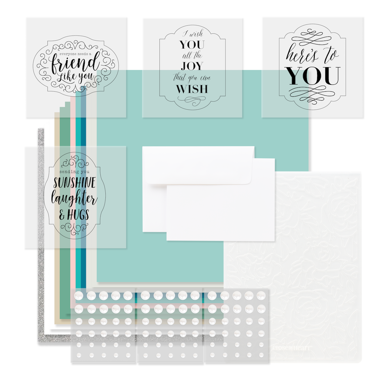 Cardmaking Scrapbooking With Heres To You Make It From Your Heart