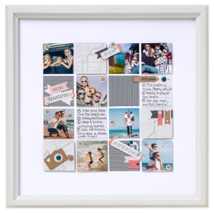 Photo Grids #ctmh #closetomyheart #photogrids #memorygrids #scrapbooking #memorykeeping #ctmhdocumented