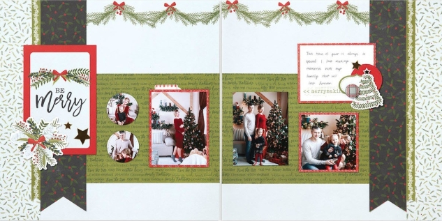 Deluxe Scrapbooking Workshop #CTMH #CloseToMyHeart #WorkshopsYourWay® #scrapbooking #scrapbook #deluxe #elevatedscrapbooking #snow #December #Christmas #holiday #CTMHTistheSeason