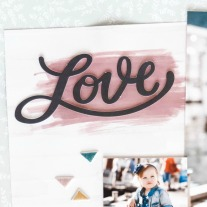 Deluxe Scrapbooking Workshop #CTMH #CloseToMyHeart #WorkshopsYourWay® #scrapbooking #scrapbook #deluxe #elevatedscrapbooking #texturepaste #mixedmedia #stencil #CricutArtistryCollection #CTMHBoutique #shimmerbrush