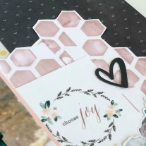 Deluxe Scrapbooking Workshop #CTMH #CloseToMyHeart #WorkshopsYourWay® #scrapbooking #scrapbook #deluxe #elevatedscrapbooking #texturepaste #mixedmedia #stencil #CricutArtistryCollection #CTMHBoutique