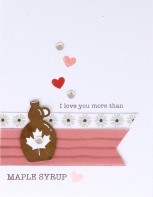 True North Workshop #ctmh #closetomyheart #TrueNorth #TrueNorthWorkshop #CelebrateCanada #Canada #maplesyrup #cardmaking