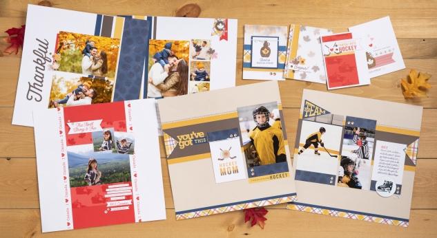 True North Workshop #ctmh #closetomyheart #TrueNorth #TrueNorthWorkshop #CelebrateCanada #Canada #fall #autumn #hockey #icehockey