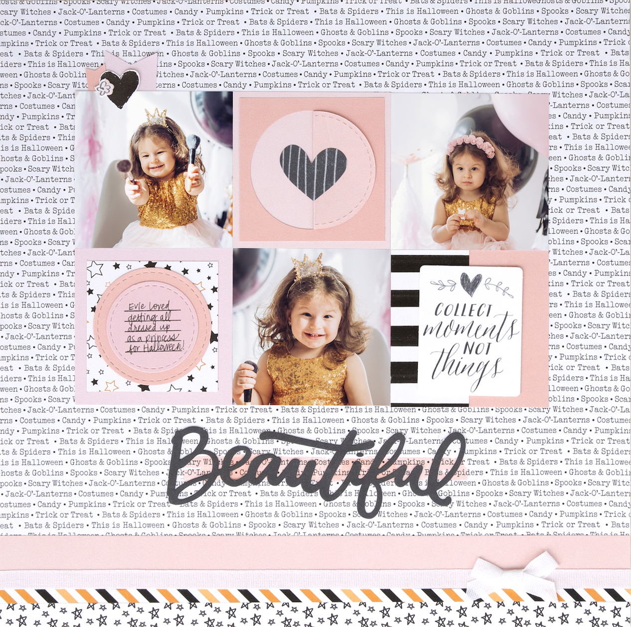 A Deluxe Scrapbooking Experience #CTMH #CloseToMyHeart #CTMHHelloPumpkin #HelloPumpkin #scrapbooking #scrapbookingworkshop #papercraftingtechnique #scrapbook #memorykeeping #ThinCuts #diecuts