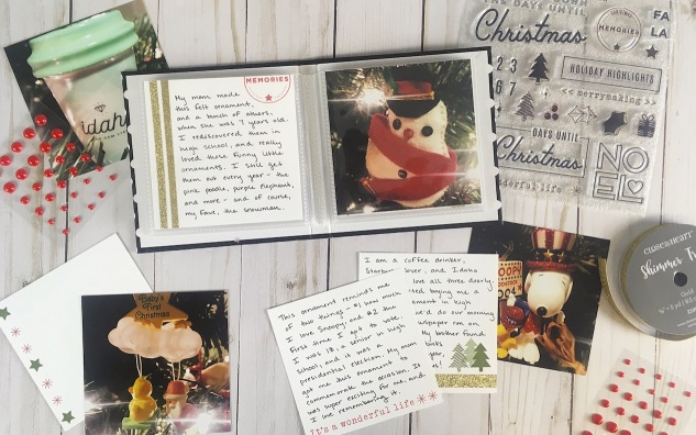 New Ways to Document the Holidays #ctmh #closetomyheart #ctmhxstorybystacy #storybystacy #Christmasalbum #Christmasornaments #holidayhighlights #holidays #Christmascountdown #scrapbooking #papercrafting #storytelling