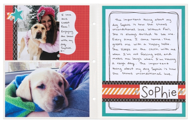 The Important Things #ctmh #closetomyheart #ctmhimportantthings #importantthings #everdaylife #minialbum #journaling #scrapbooking #theimportantbook #MargeretWiseBrown #mydog #sophie