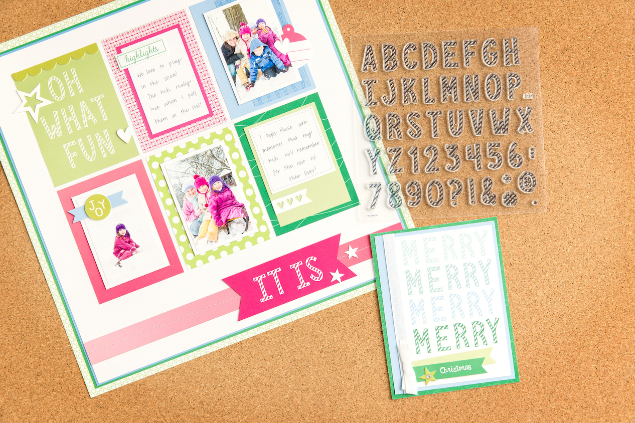 Last Call for Holiday Expressions #ctmh #closetomyheart #scrapbooking #cardmaking #papercrafting #diy #Christmas #holiday #candycane #alphabetstampset #candycanealphabet #font
