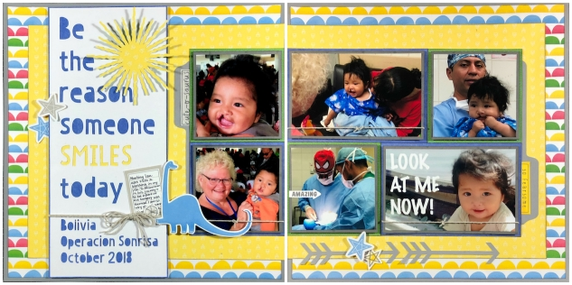 Operation Smile Consultant Report #ctmh #closetomyheart #operationsmile #ctmhoperationsmile #scrapbooking #scrapbook #charity #medicalmission