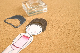Paper Pals Stamp + Thin Cuts #ctmh #papercrafting #thincuts #paperdoll