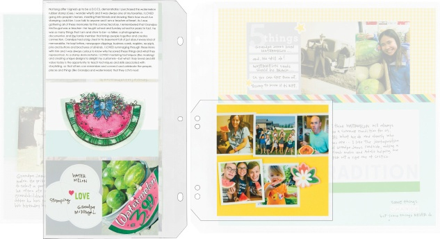 Making an Extended Story #ctmh #closetomyheart #storybystacyxctmh #storyteller #storytelling #scrapbooking #extendedstory #connectedstory #watermelon #stacyjulian