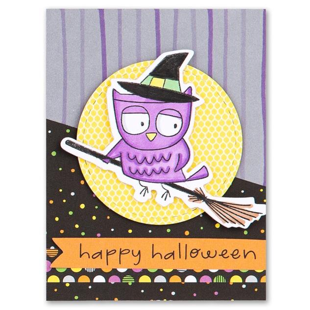 TriBlend Markers #ctmh #closetomyheart #triblendmarkers #colorblending #ctmhspooktacular #halloween #scrapbooking #cardmaking #frightfulfriends