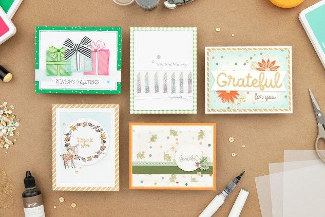 Adding Color to Vellum #ctmh #cloestomyheart #vellum #coloringvellum #colouringvellum #greetingcards #cardmaking #diy