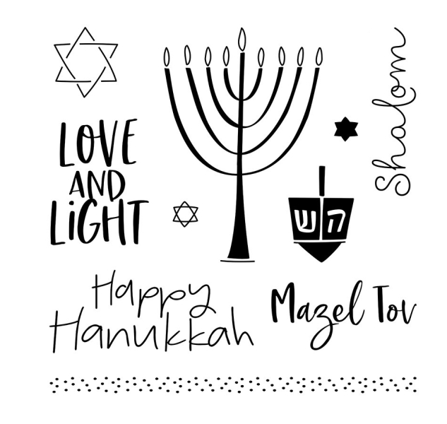 B1684 The Lights of Hanukkah