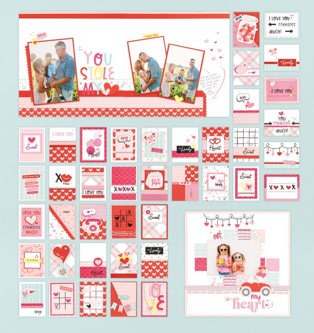New Year Catalog #ctmh #closetomyheart #scrapbooking #cardmaking #papercrafting #ctmhohmyheart #ctmhallaroundcreativity #nsm #nationalscrapbookingmonth #valentine #valentine'sday