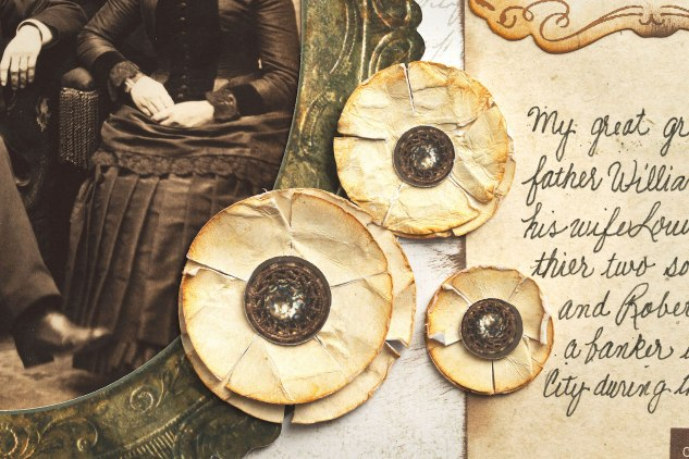 Antiquing Techniques for Papercrafts #ctmh #closetomyheart #yesterdayandtoday #antique #antiquing #scrapbooktechnique #cardmakingtechnique #scrapbooking #cardmaking #legacy #familyhistory #storytelling #papercrinkling