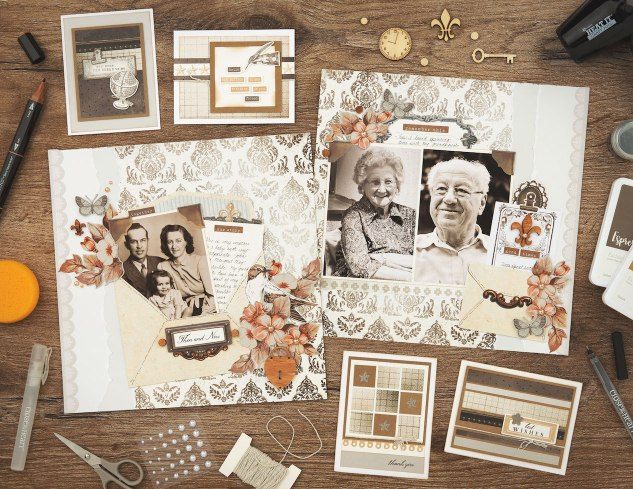 Antiquing Techniques for Papercrafts #ctmh #closetomyheart #yesterdayandtoday #antique #antiquing #scrapbooktechnique #cardmakingtechnique #scrapbooking #cardmaking #legacy #familyhistory #storytelling